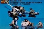 HF561 German Pak 40 Paratroopers gunner (resin)