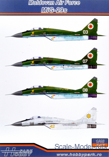 Moldovan Air Force MiG-29s