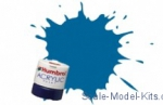 HUM-A052 Acrylic paint is water soluble HUMBROL blue Baltic