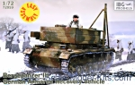 IBG72059 Bergepanzer III German armored recovery vehicle, easy assembly