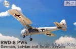 IBG72503 RWD-8 PWS German Latvian and Soviet Service