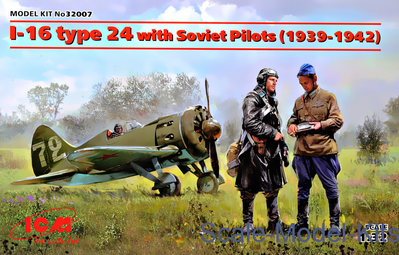 I-16 type 24 with Soviet Pilots (1939-1942)