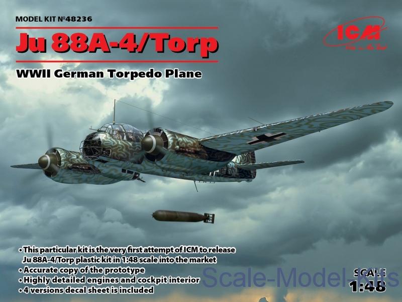 WWII German Torpedo Plane Ju 88A-4/Torp