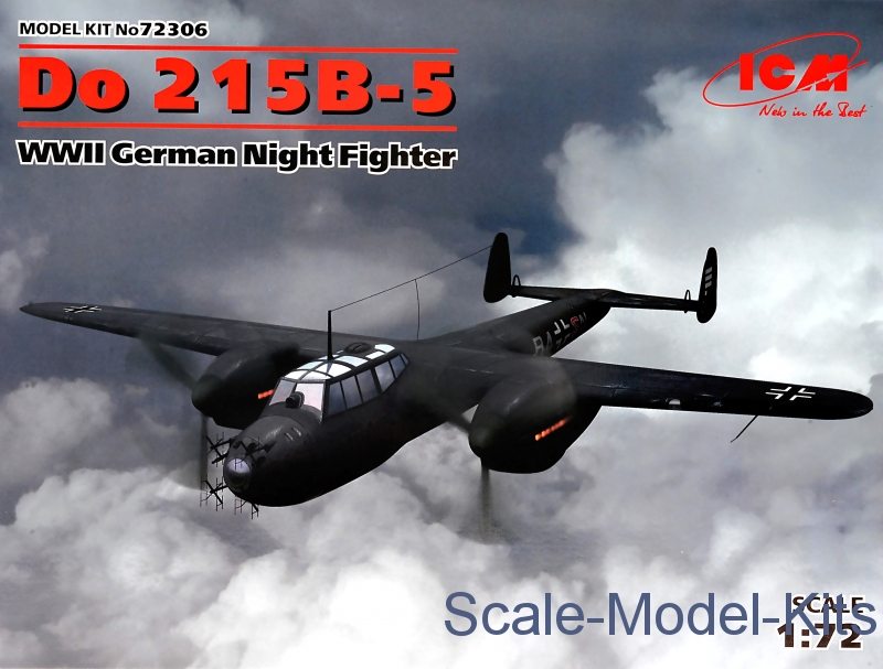 Do 215B-5, WWII German Night Fighter