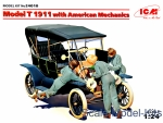 ICM24010 Model T 1911 Touring with American mechanics