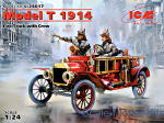 Model T 1914 Fire Truck with Crew
