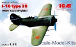 ICM32002 I-16 type 28, WWII Soviet Fighter