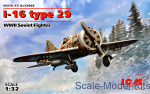 ICM32003 I-16 type 29 WWII Soviet fighter