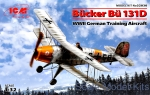 ICM32030 Bucker Bu 131D, German training aircraft, WWII