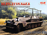 ICM35102 Sd.Kfz.251/6 Ausf.A, WWII German Armoured Command Vehicle