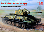 ICM35370 German Medium Tank Pz.Kpfw. 747 T-34 (r), WWII