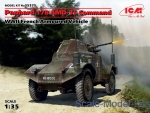 ICM35375 Panhard 178 AMD-35 Command, WWII French armoured vehicle