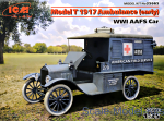 ICM35665 Model T 1917 Ambulance (early), WWI AAFS Car