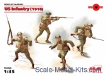 ICM35693 US Infantry 1918, (4 figures)