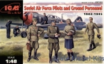 ICM48084 WWII Soviet Pilots and Technics, 1943-1945
