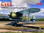 ICM48099 I-153, WWII China Guomindang AF Fighter