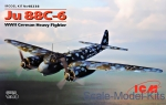 ICM48238 Ju 88C-6, WWII German Heavy Fighter