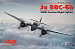 ICM48239 Ju 88С-6b, WWII German Night Fighter