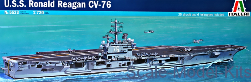 U.S.S. Ronald Regan CV-76 1/720