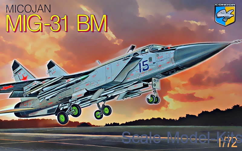 MiG-31 BM 'Foxhound' Soviet interceptor