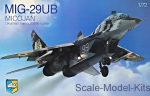KO7208 MiG-29 UB Soviet training battle fighter
