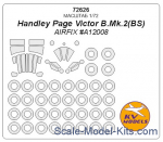 Mask 1/72 for Handley Page Victor B.Mk.2(BS) + wheels, Airfix kit