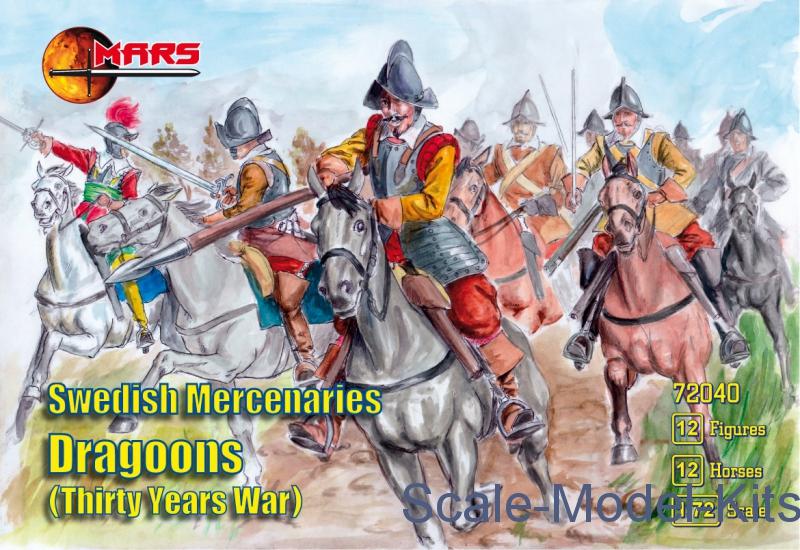 Swedish Mercenaries Dragoons, Thirty Years War