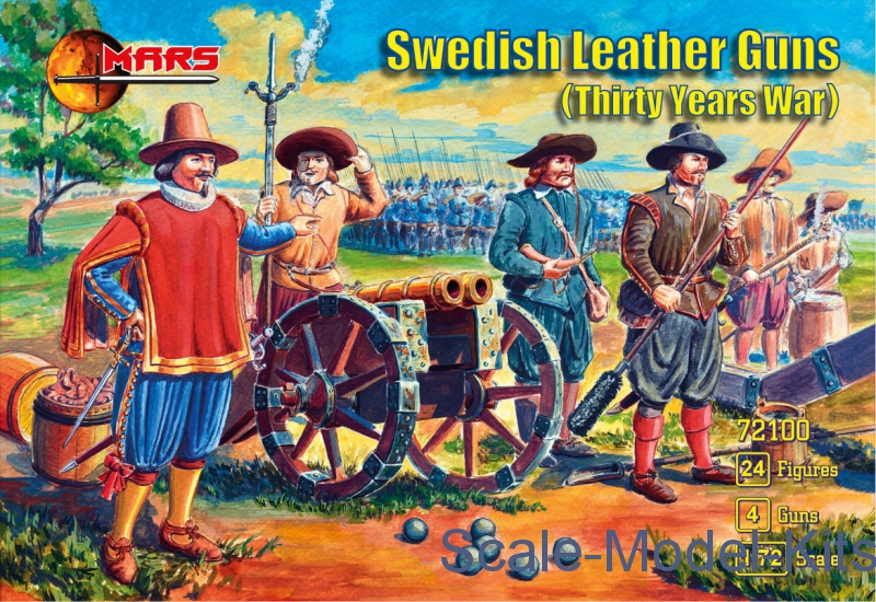 Swedish leather guns (Thirty years war)