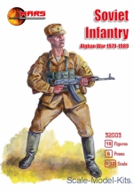 MS32003 Soviet infantry Afghan War 1979-1989