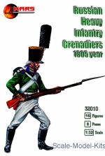 MS32010 Russian heavy infantry grenadiers, 1805 year