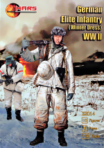 German elite infantry (winter uniforme) WWII