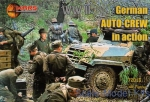 MS72013 WWII German auto-crew in action