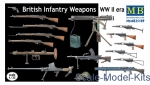 MB35109 1/35 Master Box 35109 British infantry weapons, WWII era