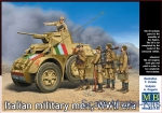 MB35144 Italian military men, WWII era