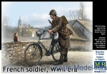 MB35173 French soldier, WWII era