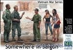 MB35185 Somewhere in Saigon, Vietnam War Series