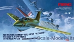 MENG-QS001 Messerschmitt Me163B  Komet Rocket-Powered Interceptor