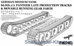 MENG-SPS049 German medium tank Sd.Kfz.171 Panther Late Production tracks & Movable running gear parts