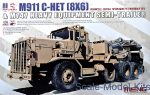 U.S. M911 C-HET(8X6) & M747 Heavy Equipment Semi-Trailer