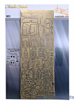 MD-PE4808 Photo-etched set Folland Gnat T.1, for Airfix kit
