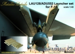 MD-R4805 Launcher set LAU-128/ADU-552 for F-15