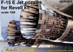 MD-R4811 F-15E Jet nozzles for Revell kit