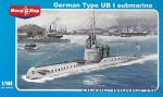 MM144-016 German type UB-1 submarine