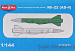 MM144-026 Soviet long-range anti-ship missile Kh-22 (AS-4)
