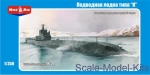 MM350-003 K-21 WWII  Soviet submarine