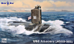 MM350-036 USS Albacore (AGSS-569) submarine