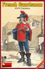 MA16011 French guardsman, XVII century