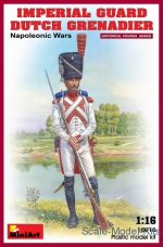 MA16018 1/16 MiniArt 16018 - Imperial guard Dutch grenadier. Napoleonic Wars.