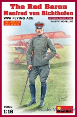 MA16032 Red Baron. Manfred von Richthofen, WWI Flying Ace