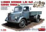 Army Car / Truck: German cargo truck L1500S, MiniArt, Scale 1:35